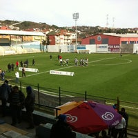 Photo taken at Yusuf Ziya Öniş Stadyumu by Bilal Ö. on 2/3/2013