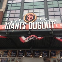 Photo taken at Giants Dugout Store by T K. on 10/29/2012