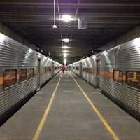 Photo taken at Southshore Train by Heather S. on 10/4/2014
