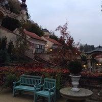 Photo taken at Ledeburská zahrada   Ladeburg Garden by Martin L. on 10/29/2014