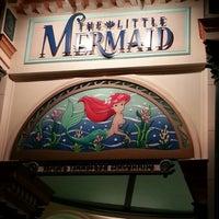 Photo taken at The Little Mermaid ~ Ariel's Undersea Adventure by Ruben G. on 11/25/2012