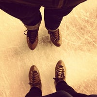 Photo taken at Crown Center Ice Terrace by Lindsay G. on 2/18/2013