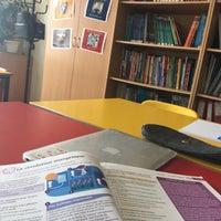 Photo taken at Pechersk School International by Gaby P. on 9/15/2017