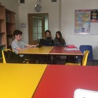 Photo taken at Pechersk School International by Gaby P. on 8/30/2017