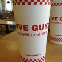 Photo taken at Five Guys by 🍻 Jackson 📢 . on 4/27/2013