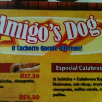 Photo taken at Amigo's Dog by Matheus S. on 5/4/2013