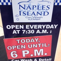 Photo taken at Naples Island Car Wash & Detail by Shell F. on 8/17/2013