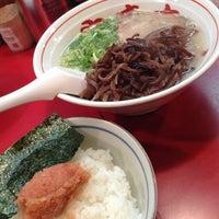 Photo taken at 博多長浜屋台 やまちゃん 銀座店 by けにぃ on 8/9/2013