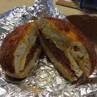 Photo taken at Spinelli's Deli by Giovanni H. on 11/25/2014