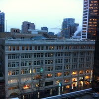 Photo taken at Four Seasons Hotel Vancouver by Santiago A. on 12/29/2012