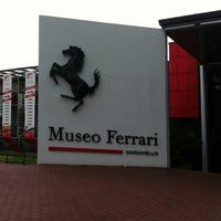 Photo taken at Museo Ferrari by Francesca S. on 4/23/2013