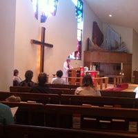 Photo taken at Holy Trinity Lutheran Church by Chris K. on 10/26/2014