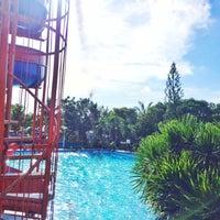 Photo taken at Villa del Prado Pool and Beach Resort by Baby Jane D. on 5/13/2017