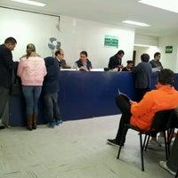 Photo taken at SRE Delegación Metropolitana Tlalpan by Jonas M. on 11/7/2012