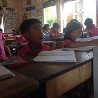 Photo taken at โรงเรียนชุมชนบ้านกุดเป่ง by Namfha L. on 11/14/2014