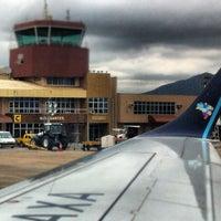 Photo taken at Aeroporto Internacional de Navegantes / Ministro Victor Konder (NVT) by Bernardo S. on 12/15/2012