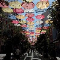 Photo taken at Şemsiyeli Sokak by Fırat T. on 8/14/2015