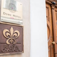Photo taken at Dome Hotel & Spa Riga by Dome Hotel & Spa Riga on 12/13/2013