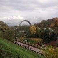 Снимок сделан в Владимирская горка пользователем Anya M. 10/24/2012
