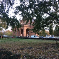 Photo taken at S Anhalter Bahnhof by A. L. on 10/12/2017