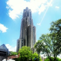 Photo taken at Cathedral of Learning by Brian R. on 5/10/2013