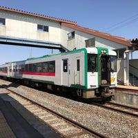 Photo taken at Kanomata Station by まつ on 5/3/2017