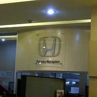 Photo taken at Honda Jakarta Center (PT Imora Motor) by Maylie A. on 1/26/2013