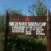 Photo taken at Mbuzi Mawe Tented Camp by Denis W. on 7/2/2015