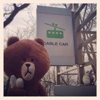 Photo taken at Namsan Cable Car by Zevil L. on 4/15/2013