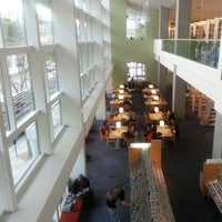Photo taken at Santa Monica Public Library - Main by Photo L. on 12/4/2012
