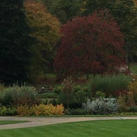 Photo taken at RHS Garden Harlow Carr by Danielle S. on 10/13/2017