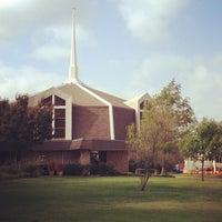 Photo taken at Arapaho United Methodist Church by Stuart T. on 10/22/2012