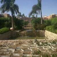 Photo taken at Cancun Beach Resort by Marina A. on 10/21/2012