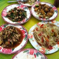 Photo taken at ร้านน้องแหม่ม by Dolphin🐬 J. on 10/12/2013