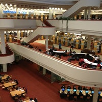 Photo taken at Toronto Public Library - Toronto Reference Library by Glad T. (. on 3/19/2013