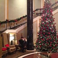 Photo taken at Sheraton Warsaw Hotel by Sofia T. on 12/17/2012