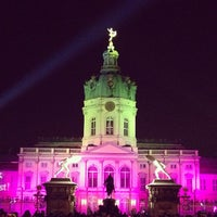 Photo taken at Weihnachtsmarkt vor dem Schloss Charlottenburg by Alexander H. on 12/8/2012