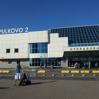 Photo taken at Аэропорт Пулково-2 / Pulkovo-2 Airport (LED) by Dima x. on 7/27/2013