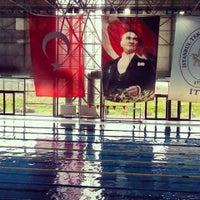 3/16/2014にAlev H.がİTÜ Olimpik Yüzme Havuzuで撮った写真