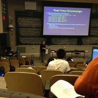 Photo taken at MIT 10-250 (Huntington Hall) by Matthew P. on 3/1/2013