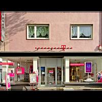 Photo taken at Telekom Shop Stuttgart-Feuerbach by Business o. on 7/5/2017