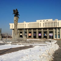 Photo taken at Кыргызская национальная филармония им. Т. Сатылганова by Евгений М. on 2/15/2013