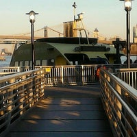 Photo taken at New York Water Taxi - Pier 11, Slip A by Maria-Leena S. on 11/26/2012