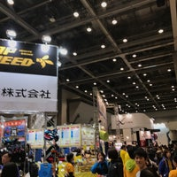 Photo taken at Tokyo Marathon EXPO by ヒロシ A. on 2/25/2017