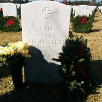 Photo taken at Jacksonville National Cemetery by Nicolas A. on 12/12/2015