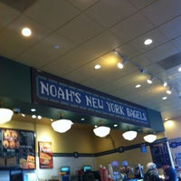 Photo taken at Noah's Bagels by Max D. on 1/5/2013