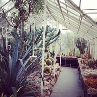 Photo taken at Volunteer Park Conservatory by Susanna J. on 4/8/2013