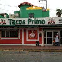 Photo taken at Tacos Primo by Luigi Armenta M. on 4/3/2013