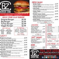 Photo taken at Burger Zone by Burger Zone on 2/11/2014