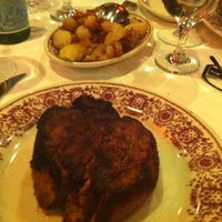 Photo taken at Sparks Steak House by Ann A. on 10/20/2013